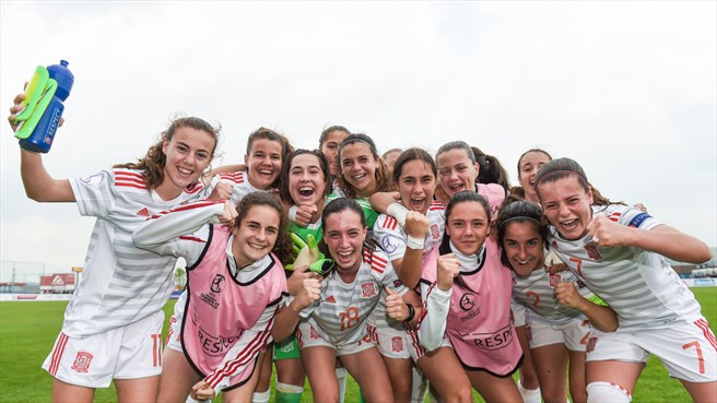 Thursday's WU17 semi-final schedule confirmed