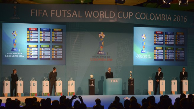 Spain face Iran again in Futsal World Cup draw