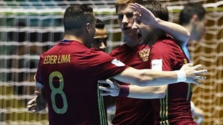 Russia, Portugal progress as Spain, Italy fall