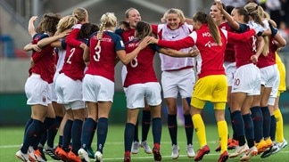 Women's World Cup qualifiers, play-off contenders